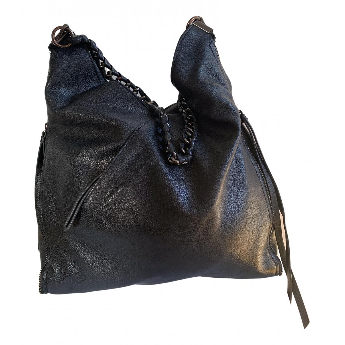 Zara \N Handtasche in  Schwarz Synthetik