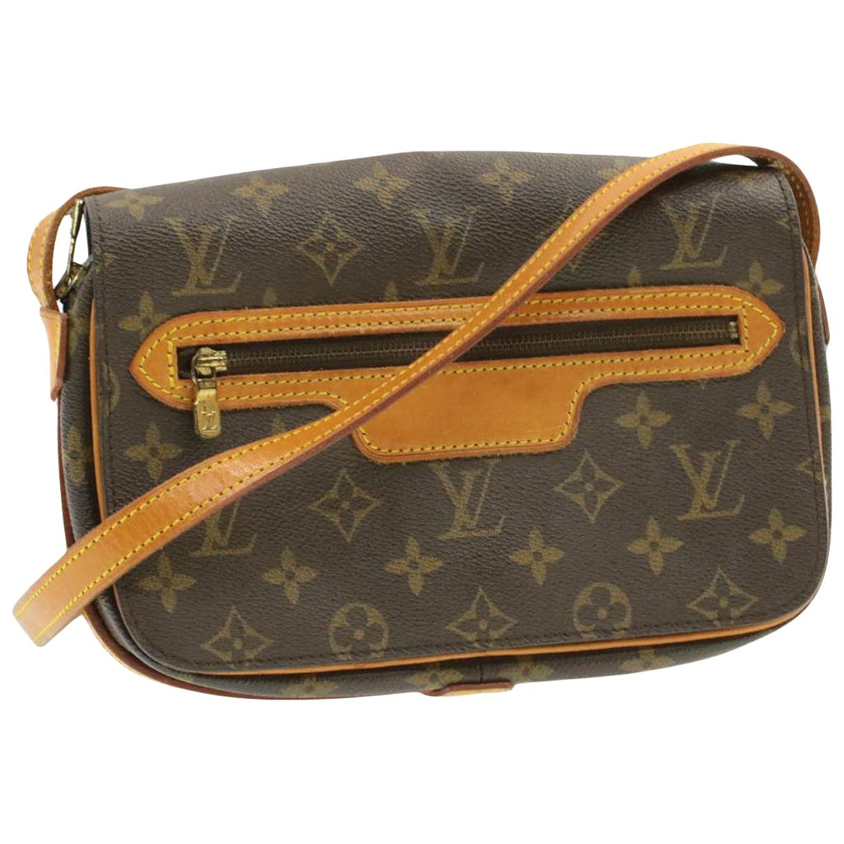 Louis Vuitton Saint-Germain Handtasche in  Braun Leinen