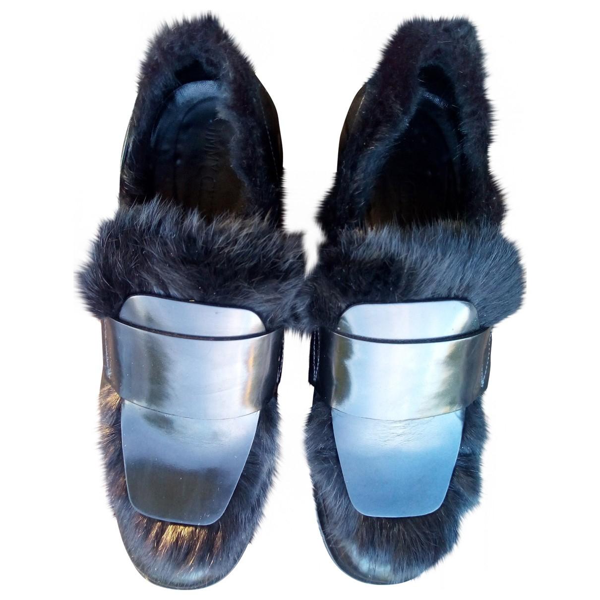 Jimmy Choo \N Black Patent leather Flats for Men 42 EU