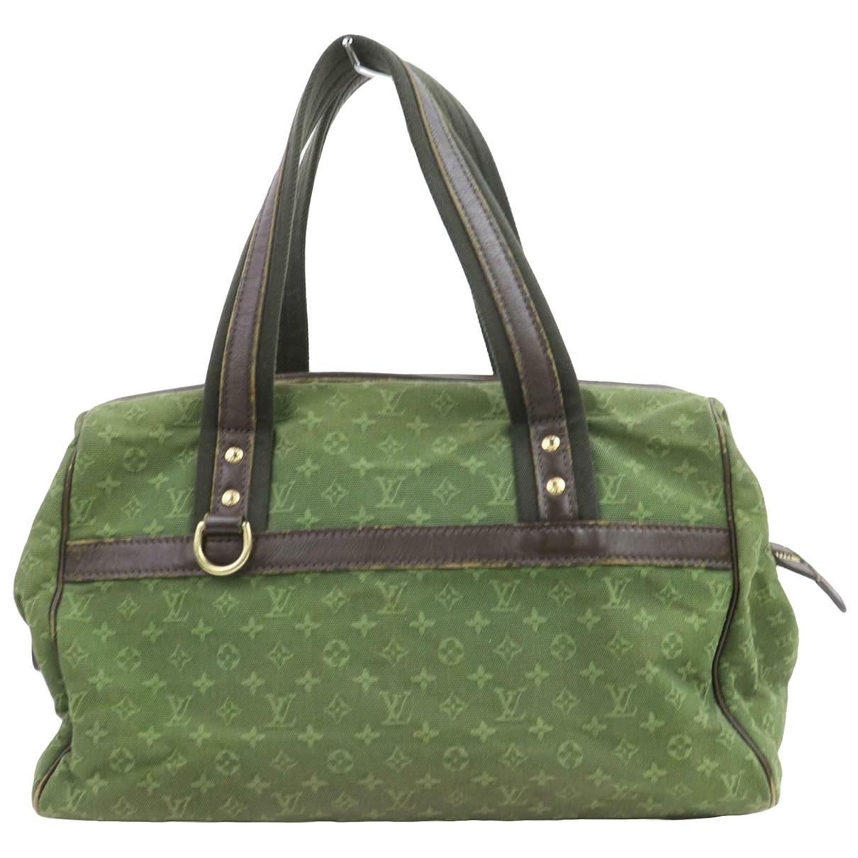 Louis Vuitton Josephine  Green Cloth handbag for Women \N