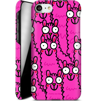 Apple iPhone 7 Smartphone Huelle - Lama Pink Dream von Flossy and Jim