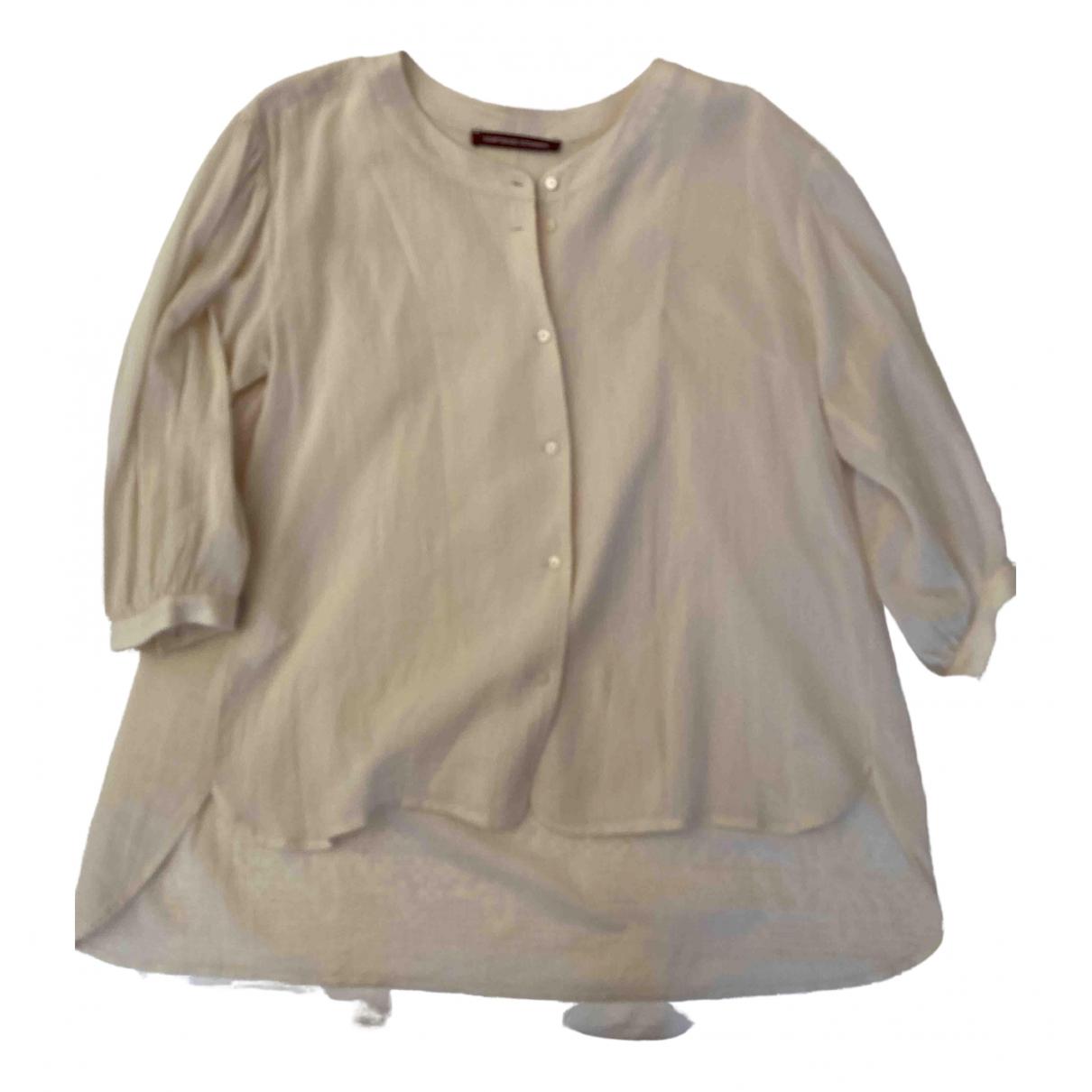 Comptoir Des Cotonniers \N Ecru Cotton  top for Women 36 FR