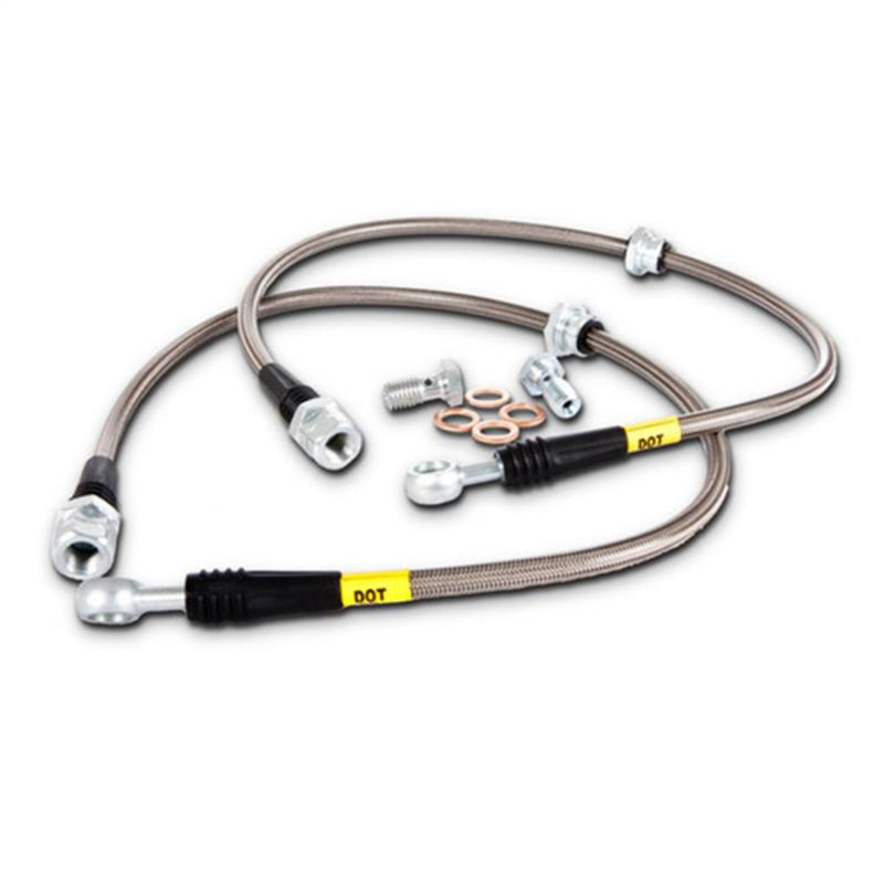 StopTech 950.42505 Stainless Steel Brake Line Kit Nissan Sentra Rear 2000-2006