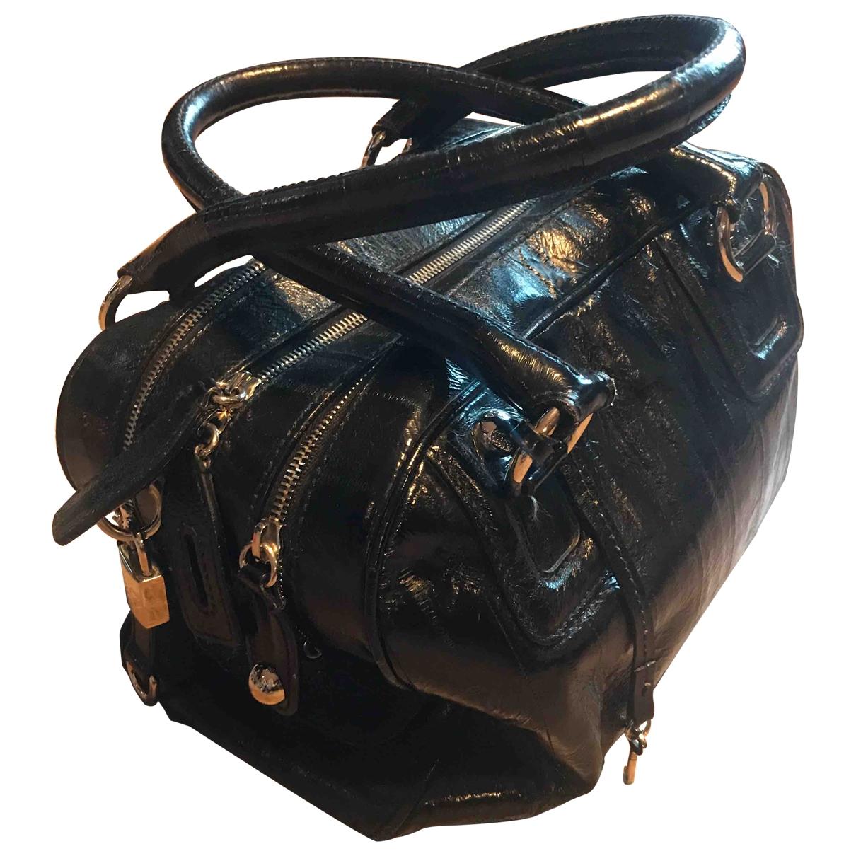 D&g \N Black Lizard handbag for Women \N