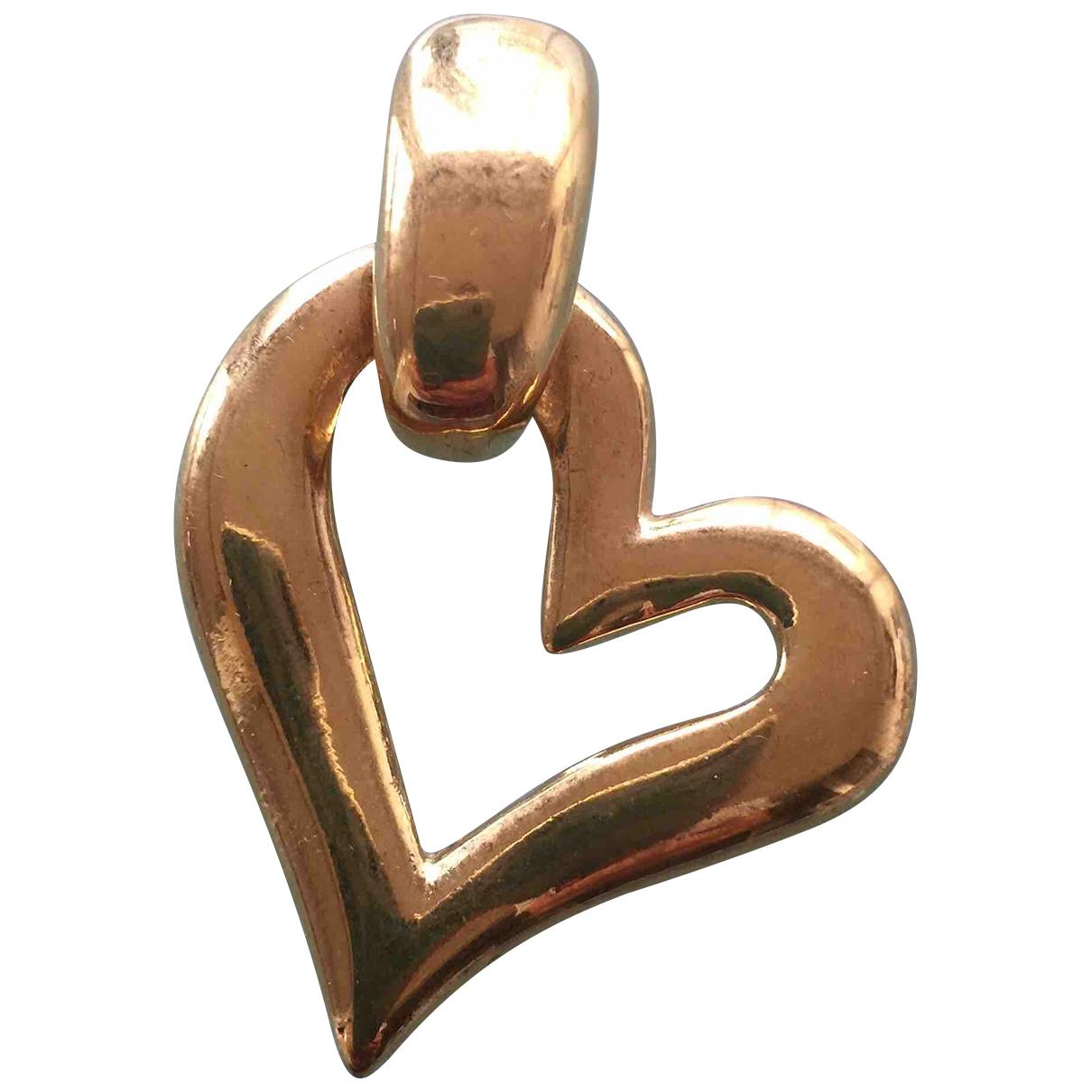 Yves Saint Laurent \N Anhaenger in  Gold Metall