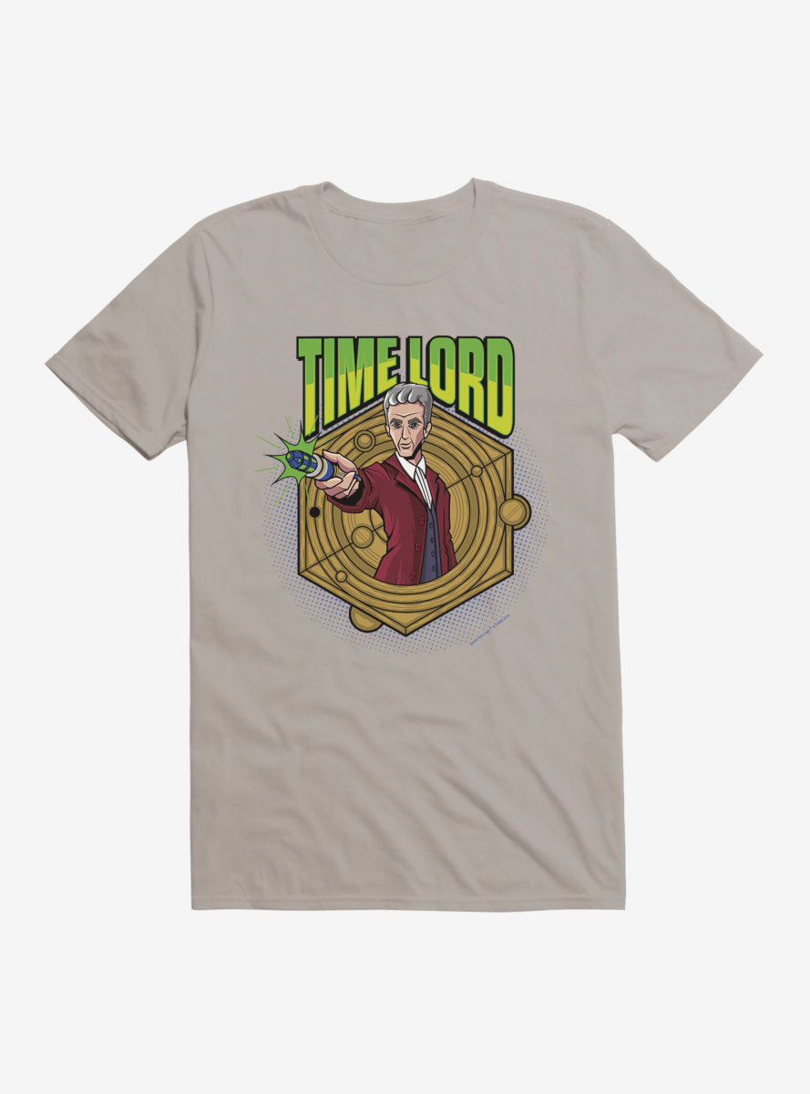 Doctor Who Twelfth Doctor Time Lord Badge T-Shirt