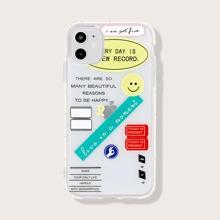 iPhone Schutzhuelle mit Buchstaben Grafik