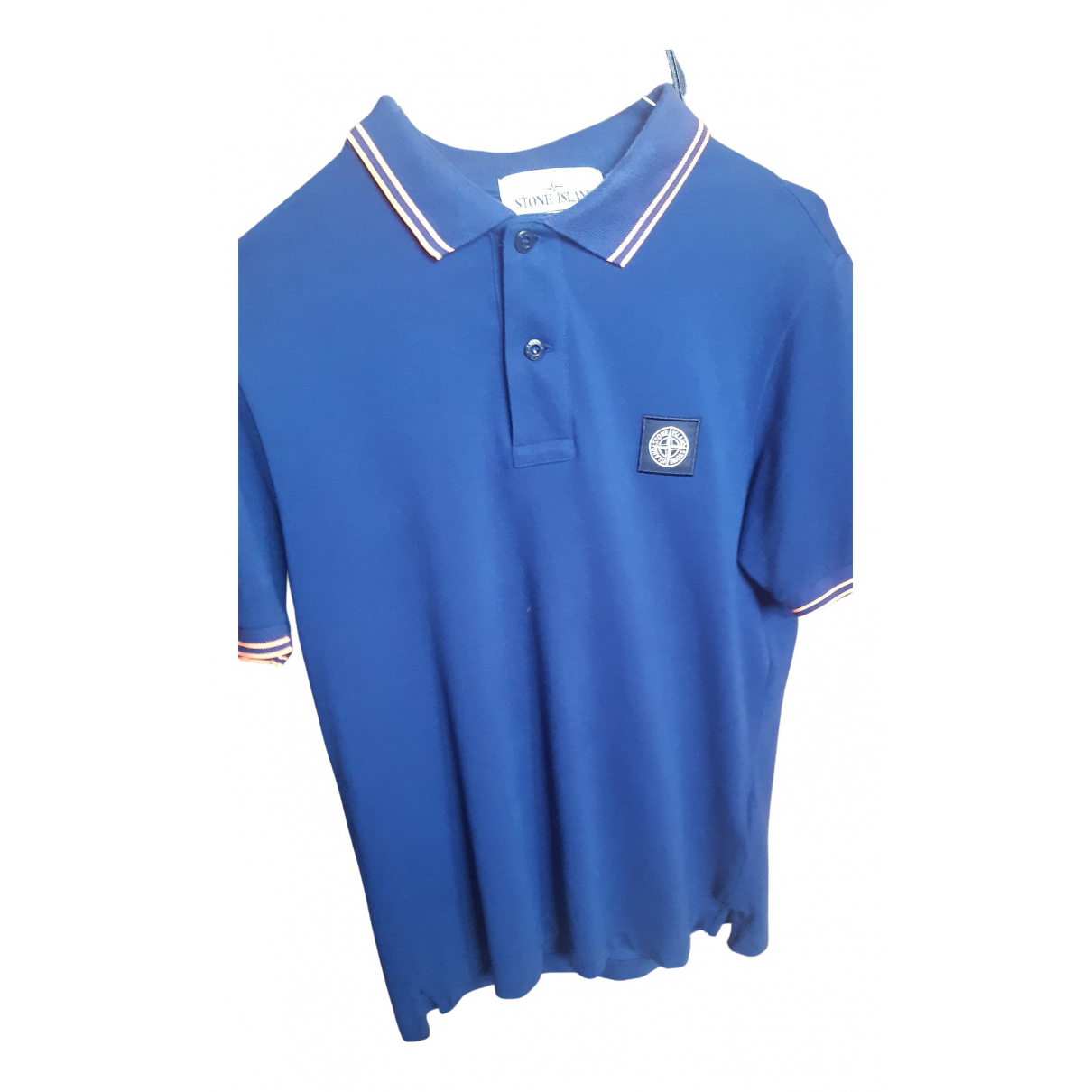 Stone Island N Blue Cotton Polo shirts for Men S International