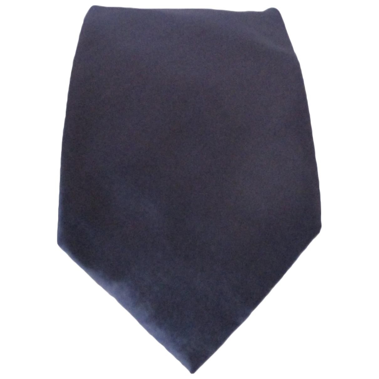 John Richmond - Cravates   pour homme en soie - bleu