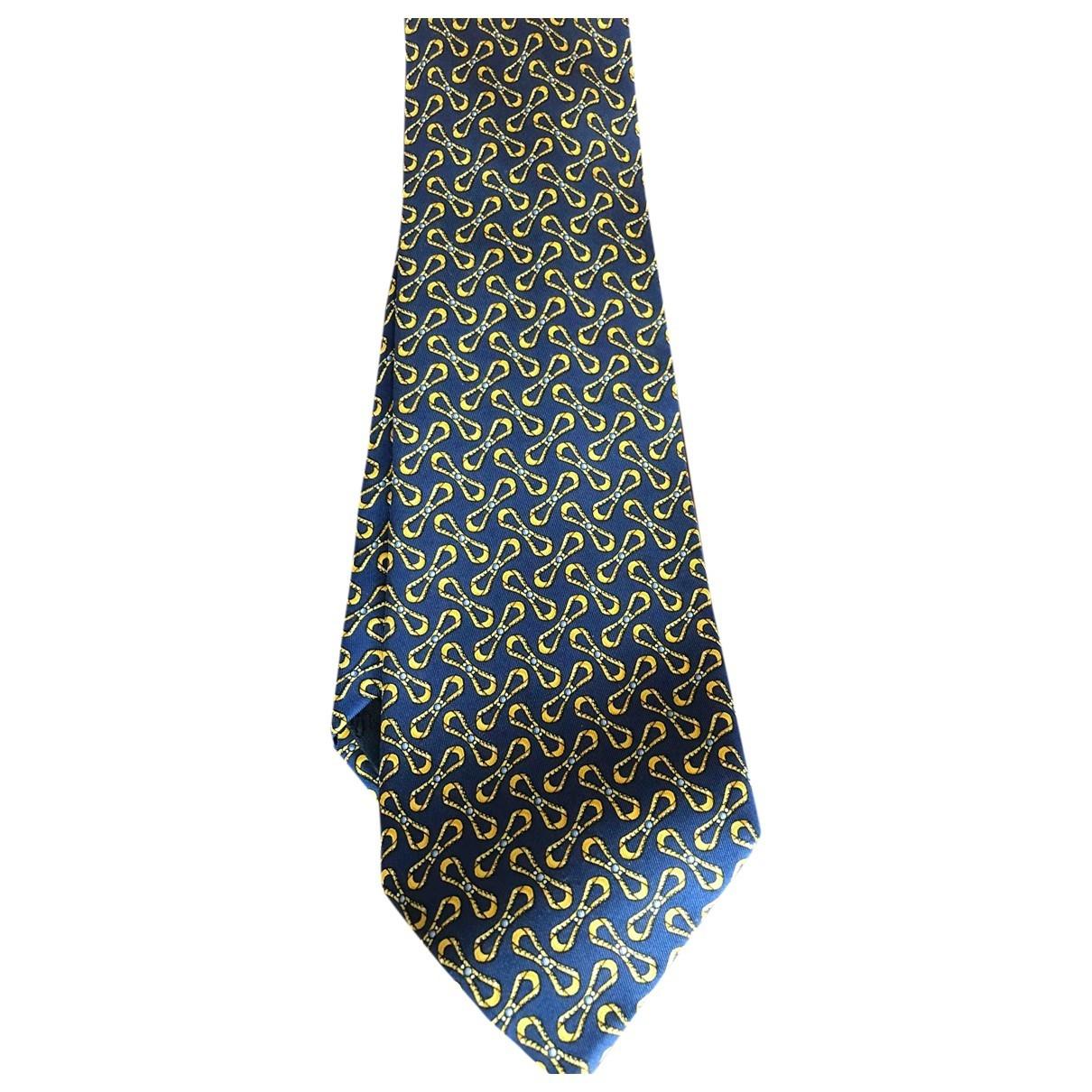 Gucci - Cravates   pour homme en soie - bleu