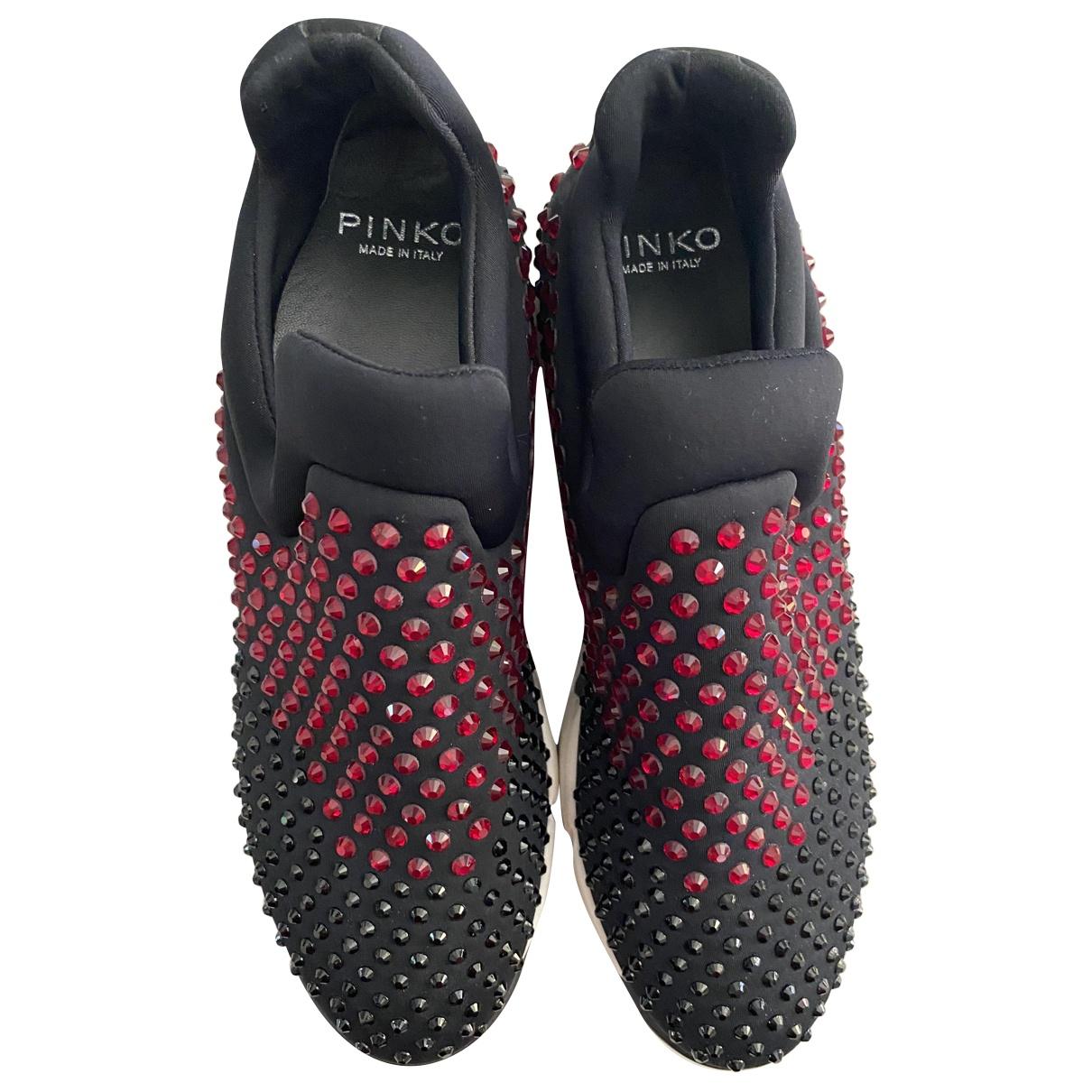 Pinko \N Sneakers in  Schwarz Mit Pailletten