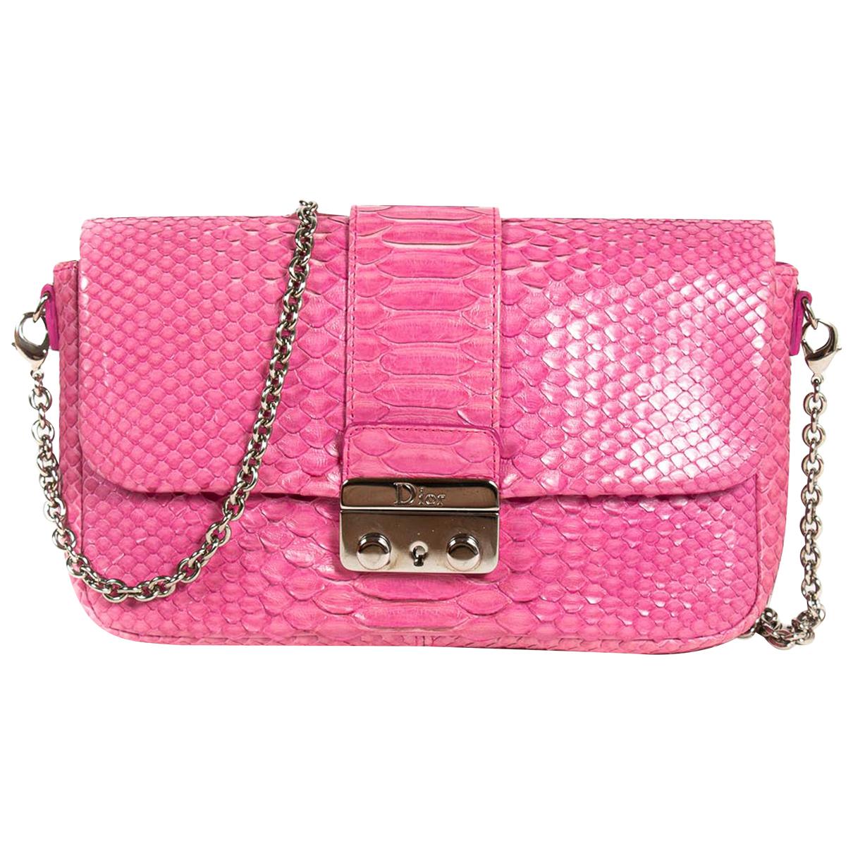 Dior Miss Dior Handtasche in  Rosa Python