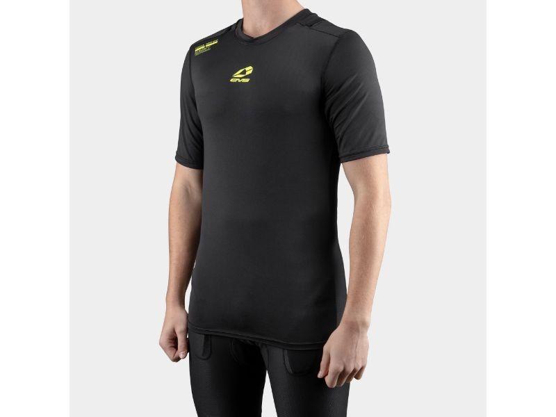 EVS TUGTOPSS-BK-YM Black Youth Tug Short Sleeve Shirt Medium