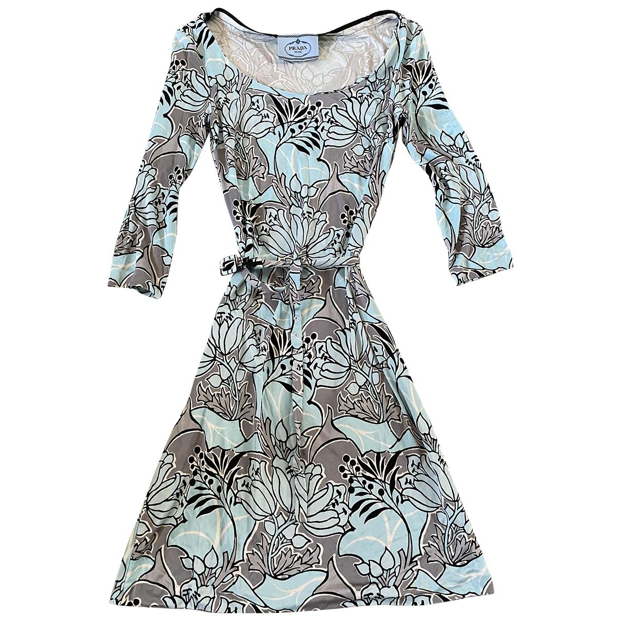 Prada - Robe   pour femme - anthracite