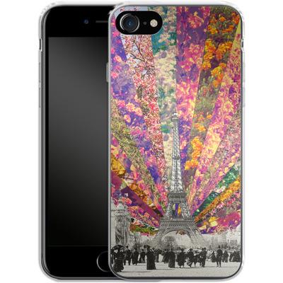 Apple iPhone 8 Silikon Handyhuelle - Vintage Paris von Bianca Green
