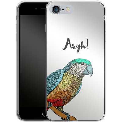 Apple iPhone 6 Plus Silikon Handyhuelle - Parrot Pirate von caseable Designs