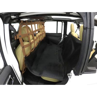 DirtyDog 4x4 Pet Divider with Hammock and Door Protectors (Sand) - JL4PH18HSD