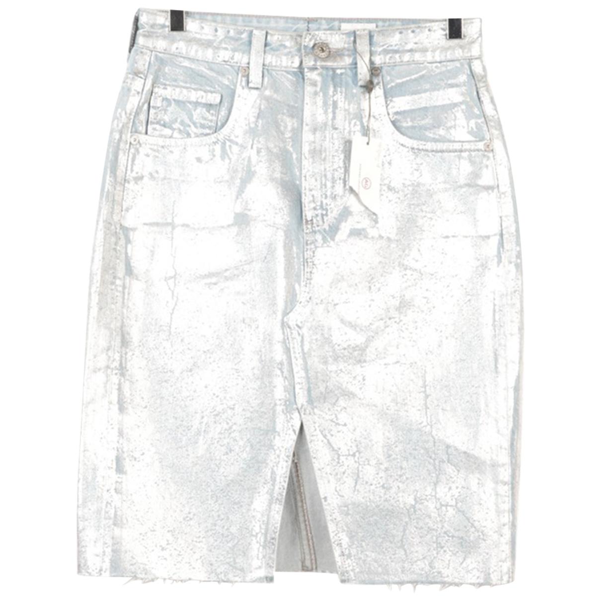 Ag Jeans \N Rocke in  Metallic Baumwolle