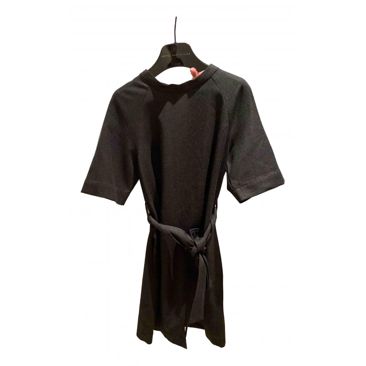 Marc By Marc Jacobs - Robe   pour femme en coton - elasthane - anthracite