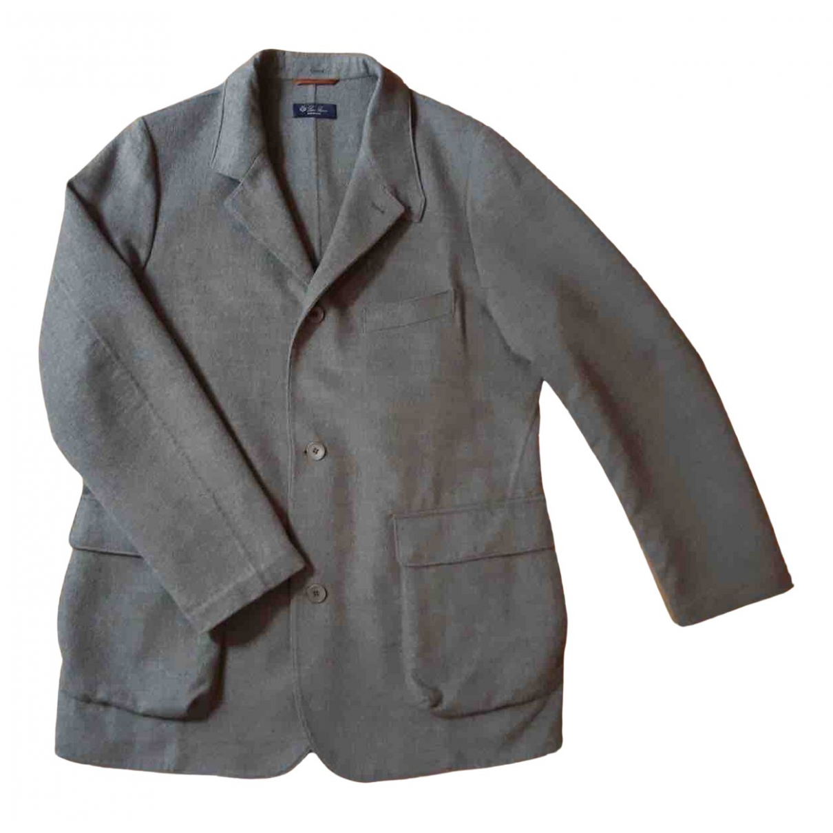 Loro Piana N Grey Cashmere coat  for Men XXL International