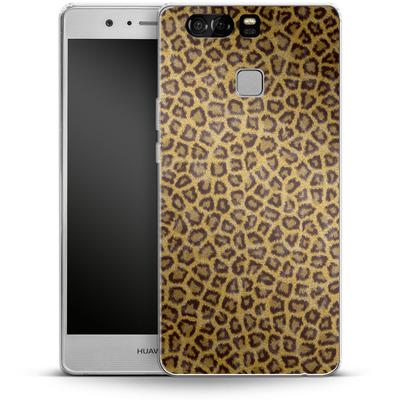 Huawei P9 Silikon Handyhuelle - Leopard Skin von caseable Designs