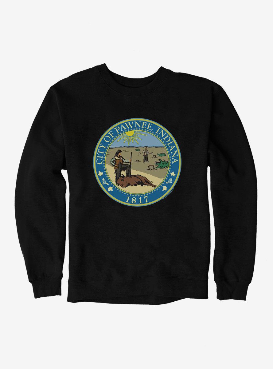 Parks And Recreation Pawnee Indiana Seal Sweatshirt