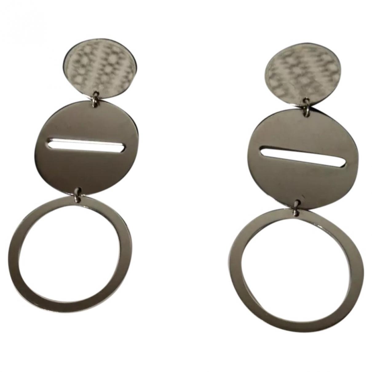 Furla \N OhrRing in  Silber Metall