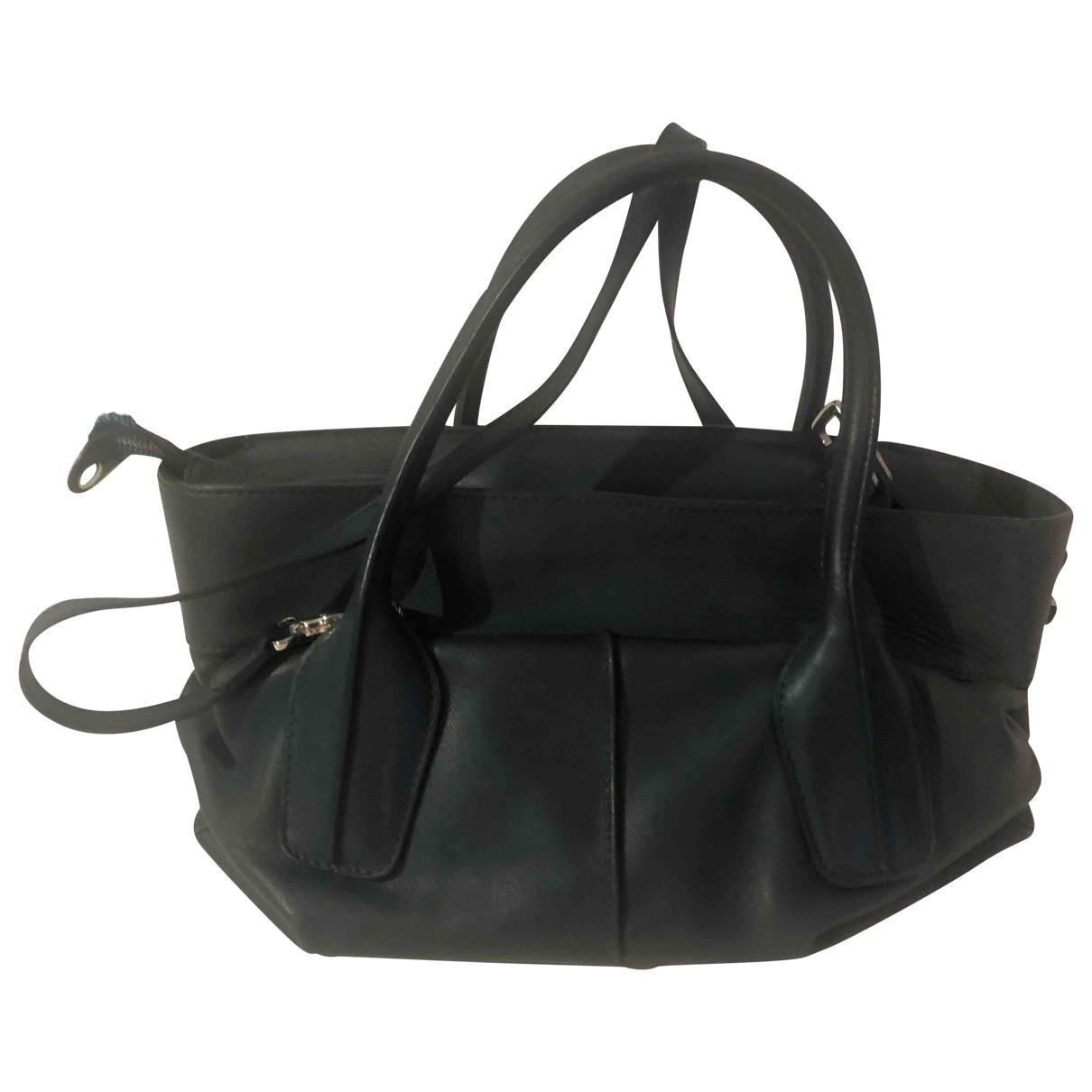 Tod's \N Green Leather handbag for Women \N