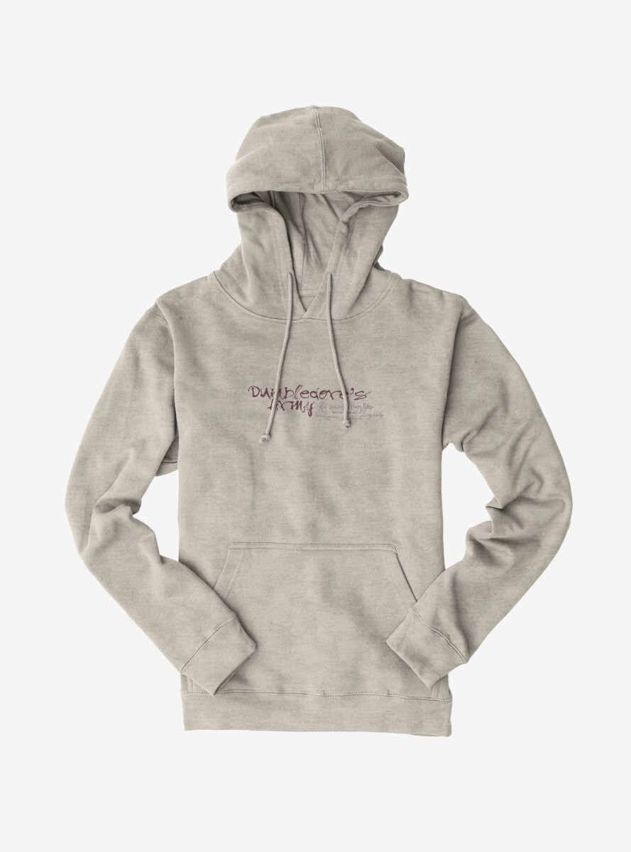 Harry Potter Dumbledore's Army Script Hoodie