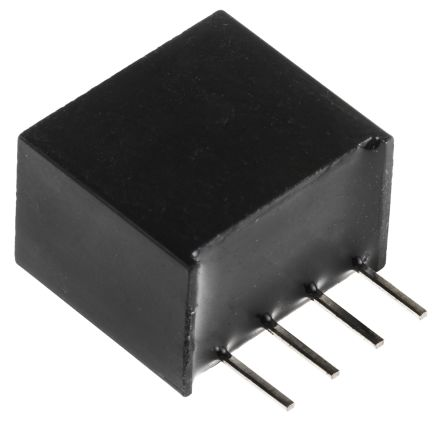 Recom RI 2W Isolated DC-DC Converter Through Hole, Voltage in 4.5 → 5.5 V dc, Voltage out 15V dc