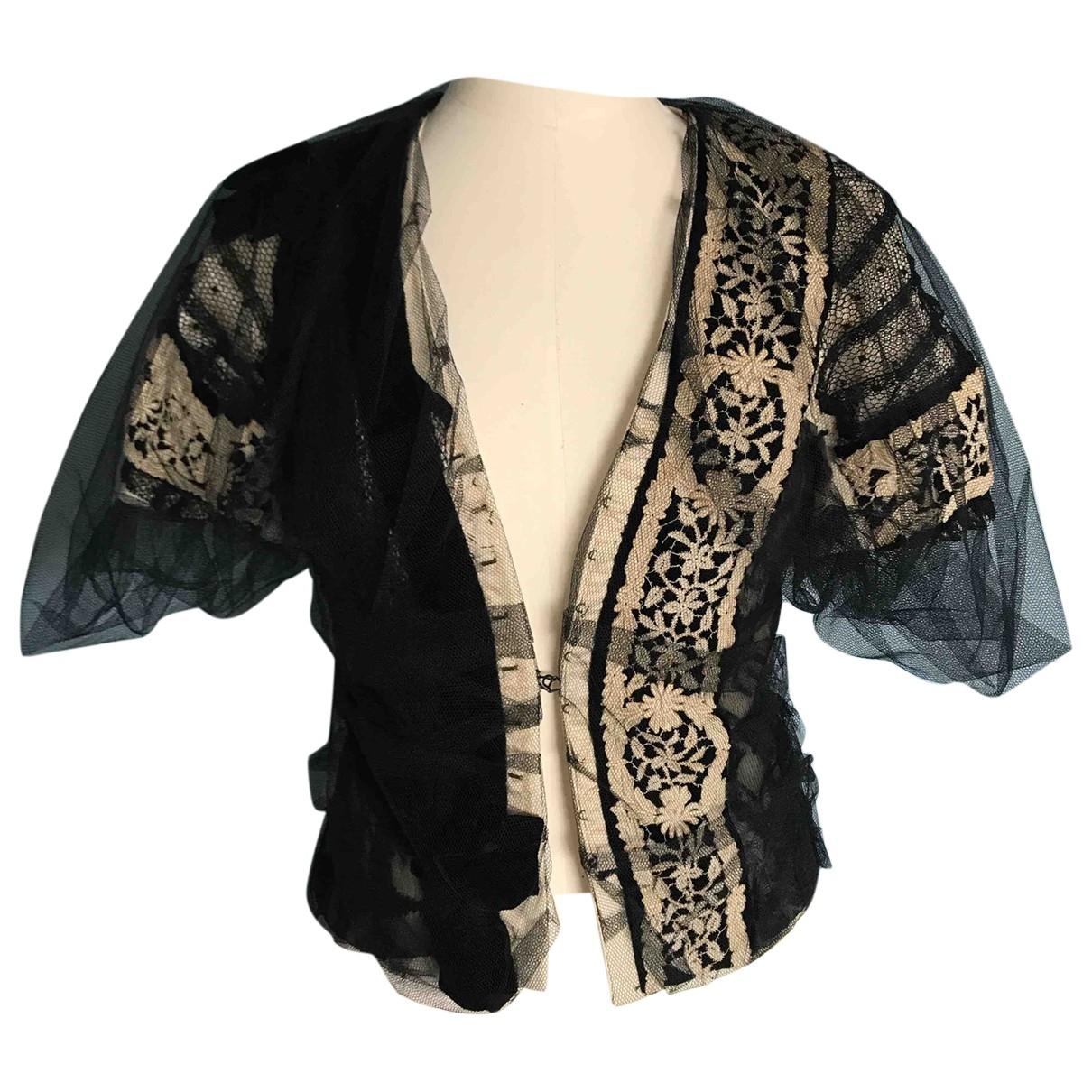 Tata Naka - Veste   pour femme en coton - noir