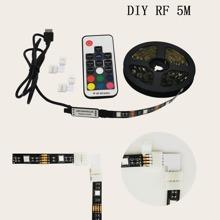 1 Stueck Mehrfarbiges Lichtband & Fernbedienung