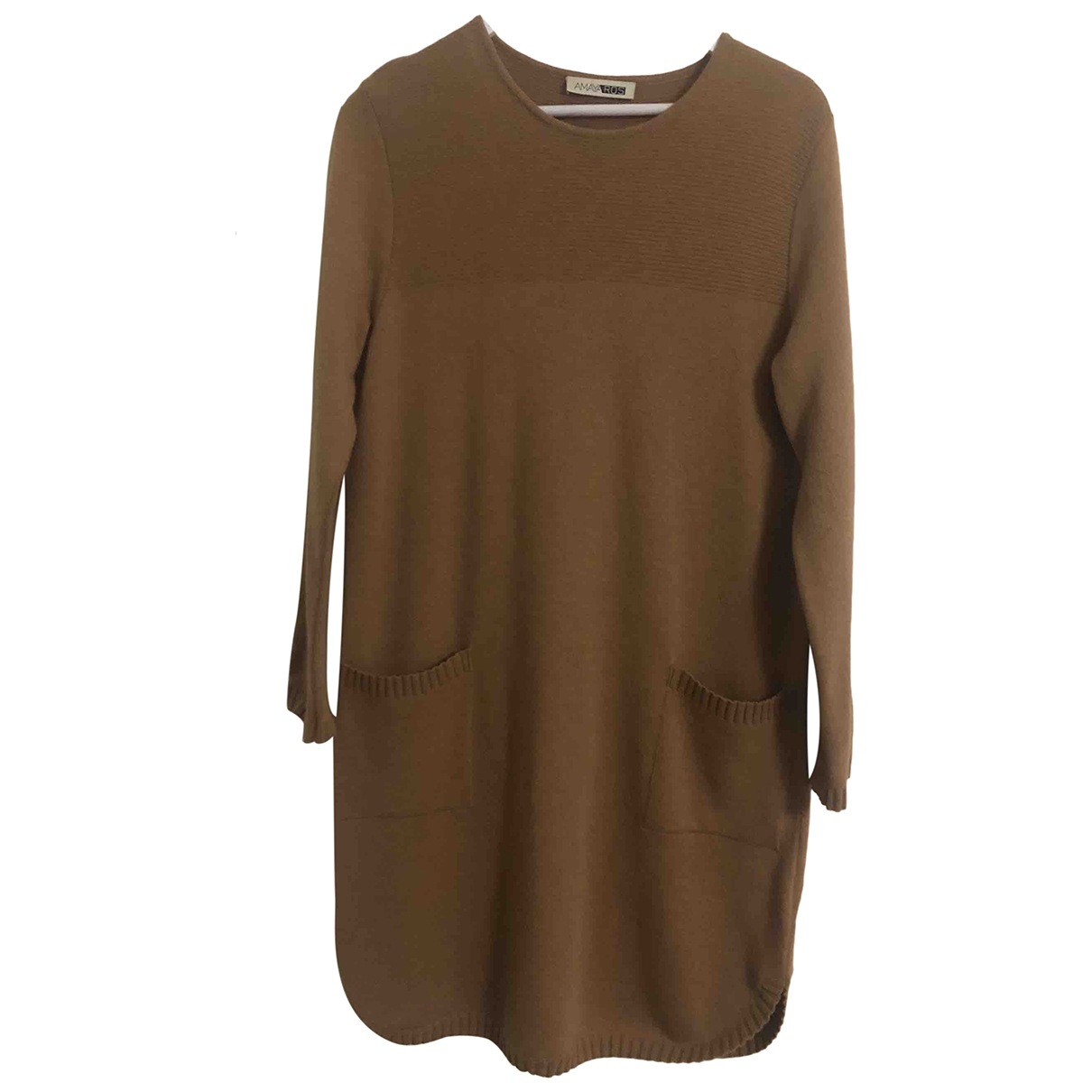 Vestido midi Oversize de Lana Non Signe / Unsigned