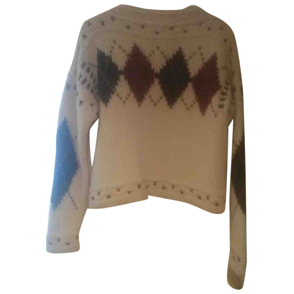 Isabel Marant \N Pullover in  Ecru Wolle