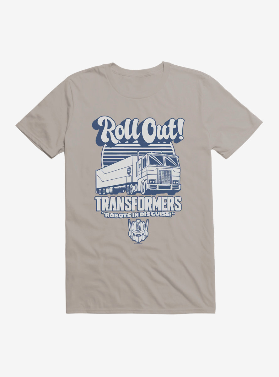 Transformers Roll Out Optimus Prime T-Shirt