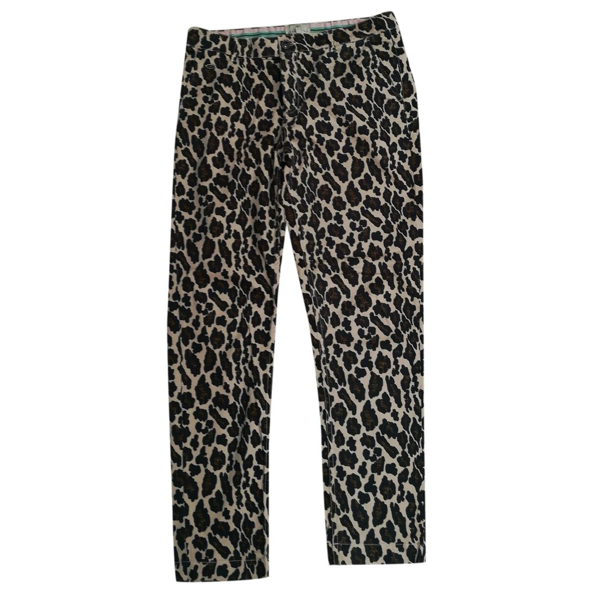 Essentiel Antwerp \N Multicolour Cotton - elasthane Jeans for Women 42 FR