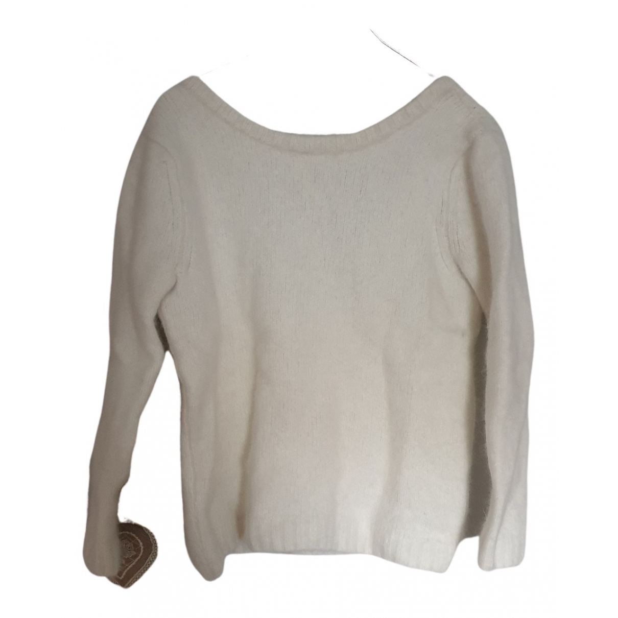 Ba&sh N Ecru Wool Knitwear for Women 42 FR