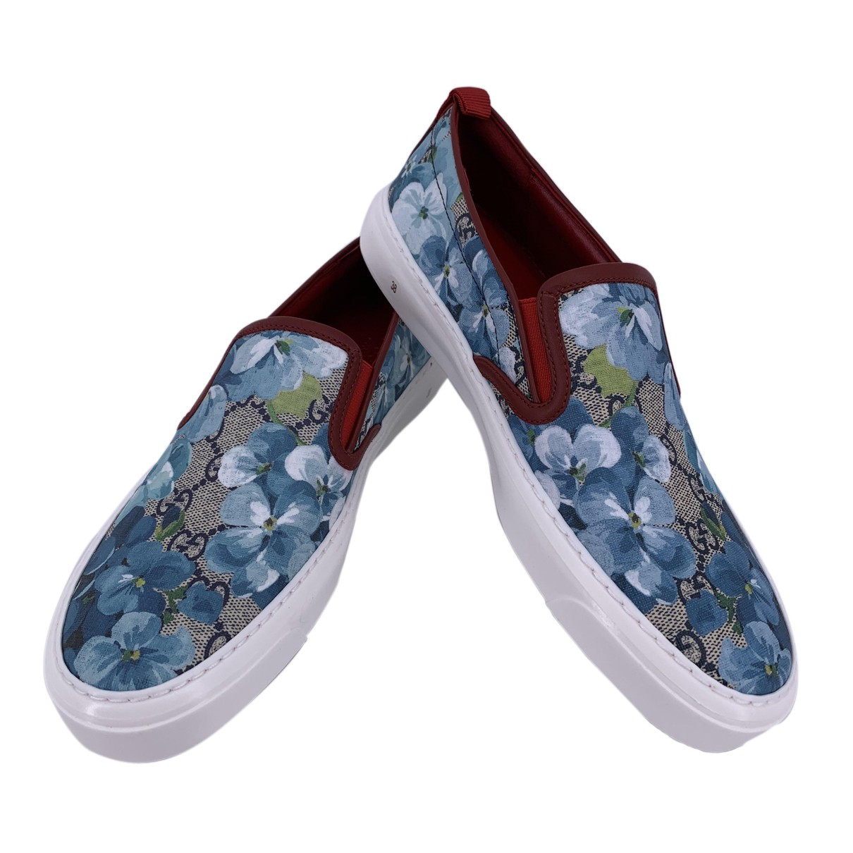 Gucci N Multicolour Leather Trainers for Women 36 IT