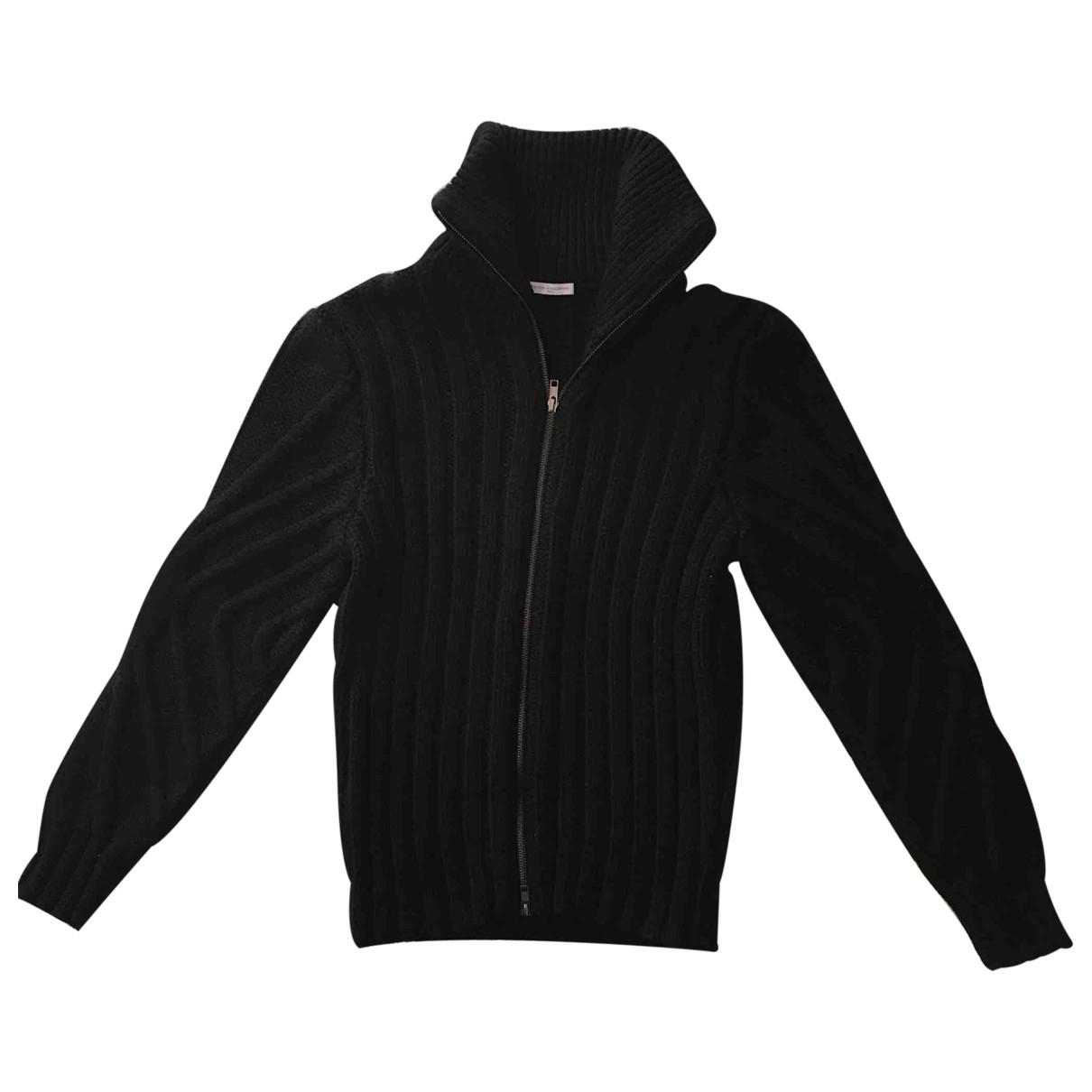 Daniele Alessandrini \N Pullover.Westen.Sweatshirts  in  Schwarz Wolle