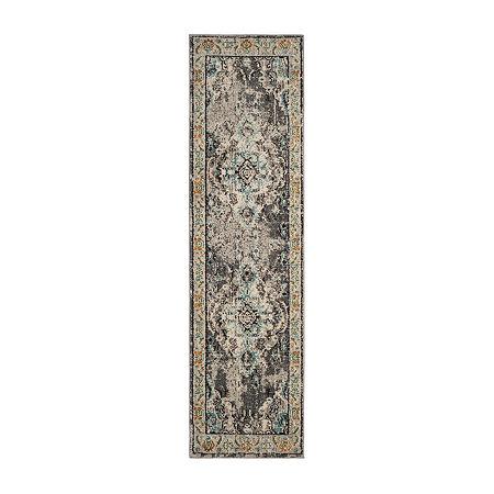 Safavieh Monaco Collection Clotilda Oriental Runner Rug, One Size , Multiple Colors