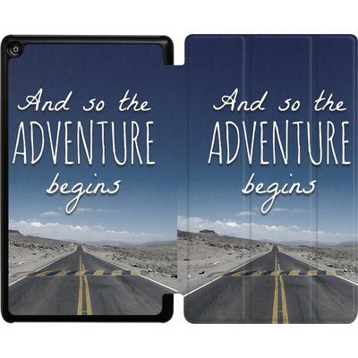 Amazon Fire HD 8 (2018) Tablet Smart Case - And so the Adventure Begins von Joel Perroden