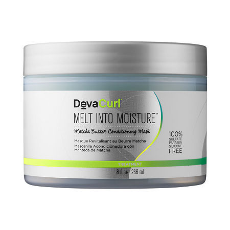 DevaCurl Melt into Moisture Matcha Butter Conditioning Mask, One Size , No Color Family