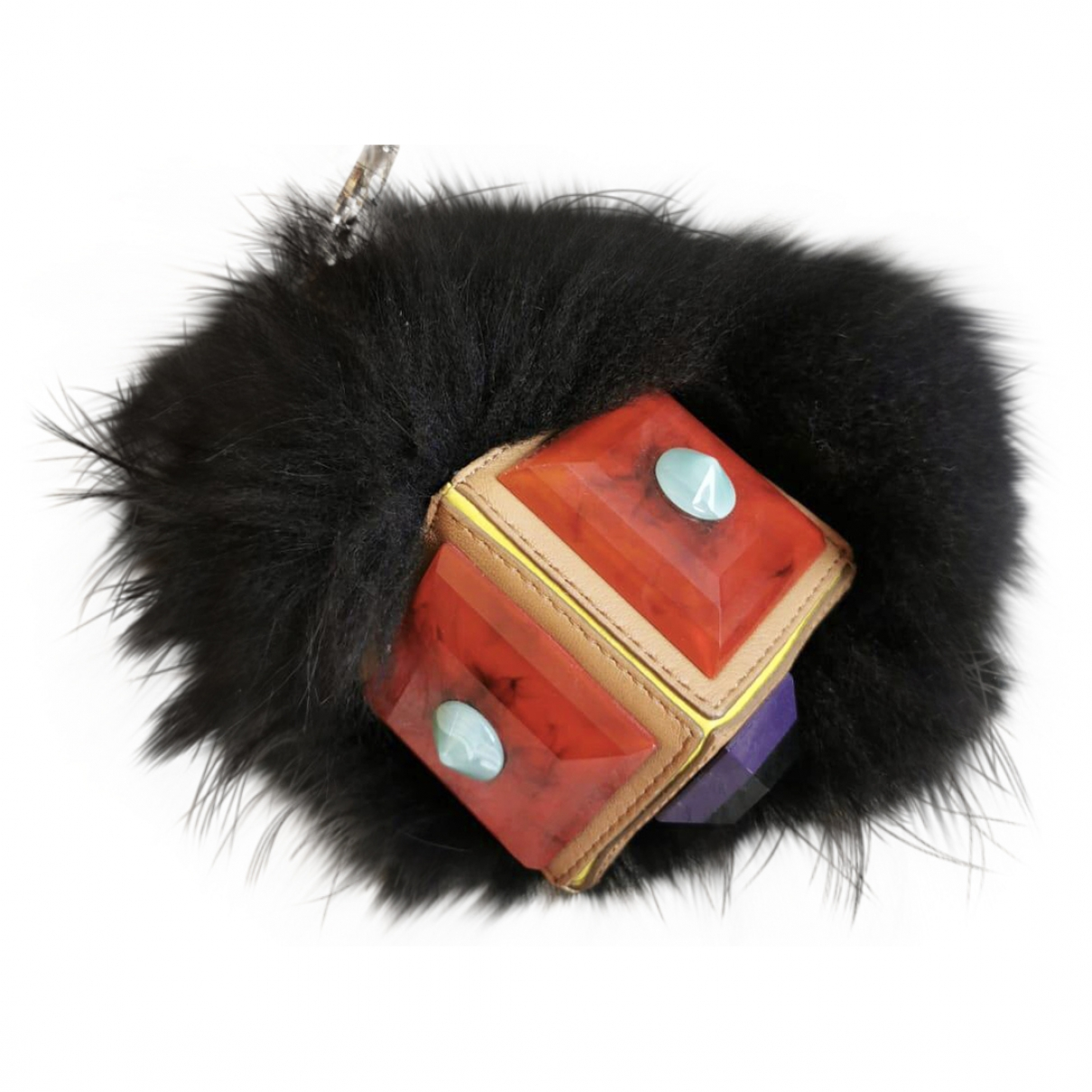 Fendi Bag Bug Taschenschmuck in  Bunt Fuchs