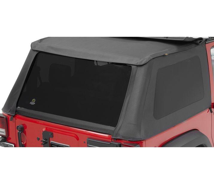 Bestop 58222-35 Black Diamond Tinted Window Kit for Trektop NX Jeep Wrangler 2-Door 2007-2018