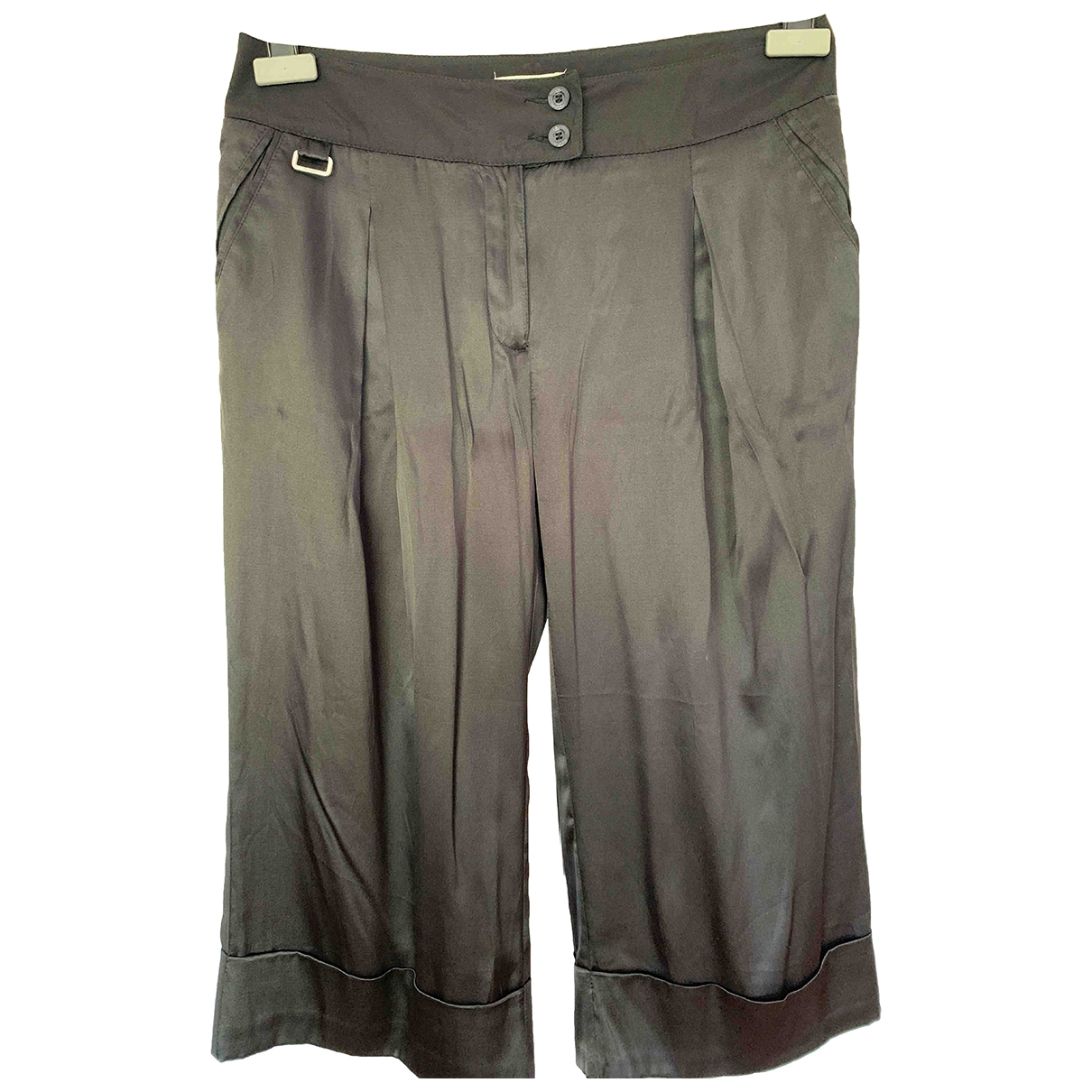 Byblos \N Shorts in  Schwarz Seide