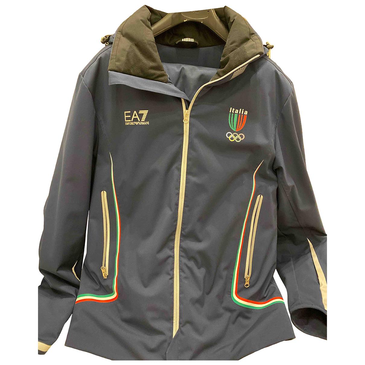 Emporio Armani N Blue jacket  for Men XL International