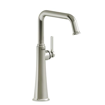 Momenti MMSQL01LPN Single Hole Lavatory Faucet with L Lever Handle 1.5 GPM  in Polished