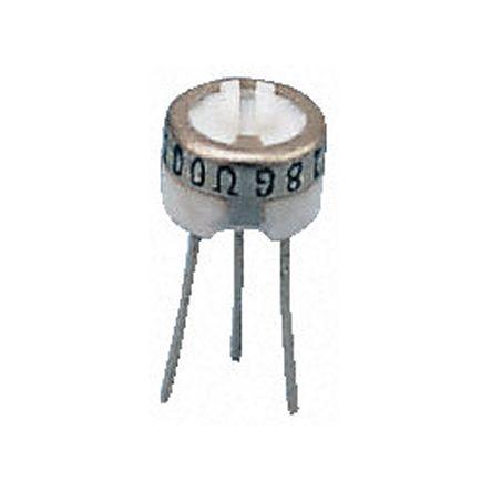 Bourns 200kΩ, Through Hole Trimmer Potentiometer 0.5W Top Adjust , 3329