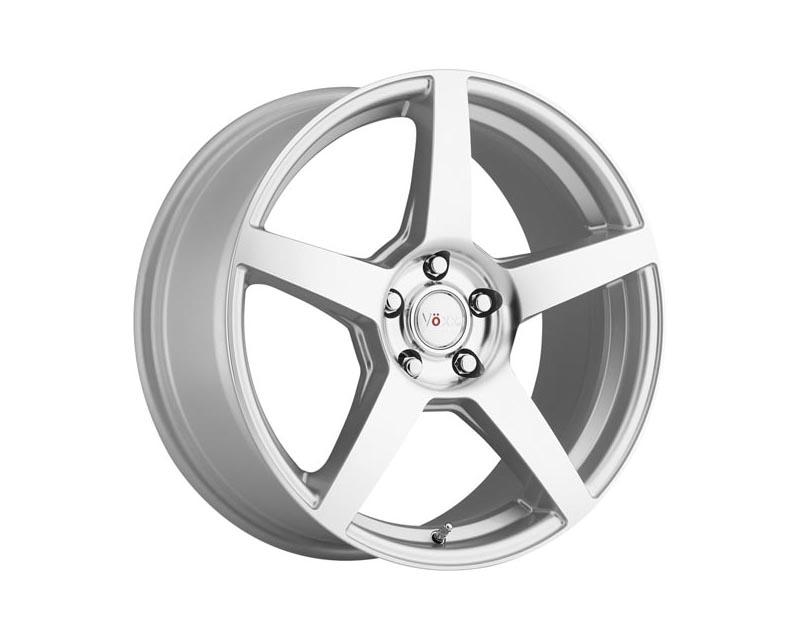 Voxx Wheels MGA 880-5120-40 SMF MGA Wheel 18x8 5x1200 40 SLMCMS Silver Mirror Machined Face