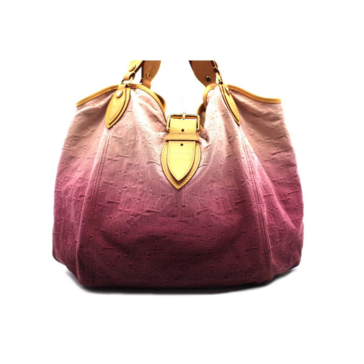Louis Vuitton - Sac a main   pour femme en toile - rose